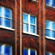 Office building windows — Stock Photo #62180649