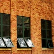 Office building windows Reflecting Sky — Stock Photo #62448519
