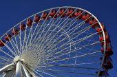 Ferris Wheel Blue Sky — Stock Photo