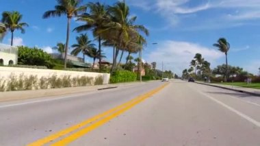 Bicyclists point of view — Stockvideo