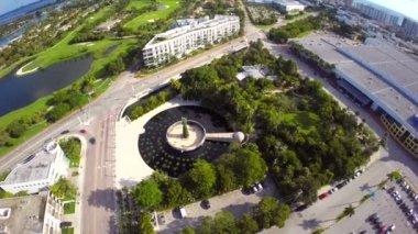 Botanical Gardens Miami Beach — Stock Video