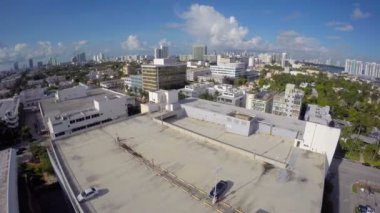 Aerial video Miami Beach — Stock Video