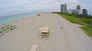 Miami Beach aerial video — Stock Video