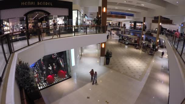 Aventura Mall Miami 4k video — Vídeo de stock