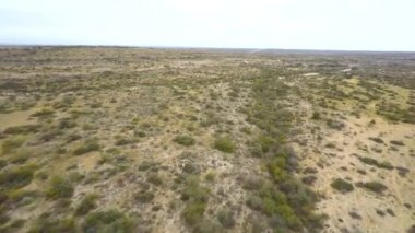Video di hyperlapse aerea del deserto del Texas — Video Stock