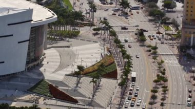 American Airlines Arena — Stock Video