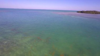 Tropical waters of the Florida Keys — Stock Video