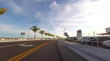 Driving in Key West — Stock Video