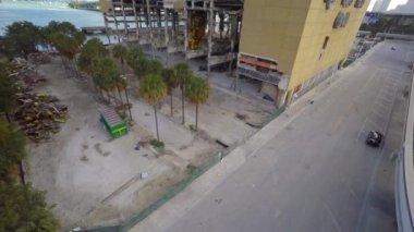 Miami Herald building destruction — Stockvideo