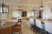 Blurry home interior — Stock Photo