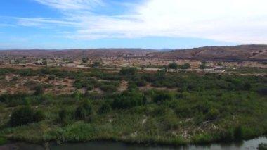 Aerial video of San Ardo CA — Stock Video