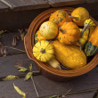 Autumn Pumpkins and Gourds — Stock Photo #52697251