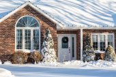 Winter Home — Stock Photo