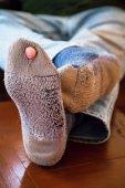 Old Socks — Stock Photo