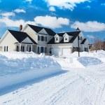 Winter Road — Stock Photo #57948209