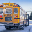 Winter School Bus — Stock Photo #59365685
