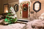 Christmas House — Stock Photo