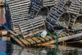 Newfoundland pułapek homara — Zdjęcie stockowe