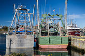 Newfoundland Fishing Boats — Stock Photo