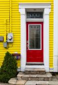Newfoundland Doorways — Stock Photo