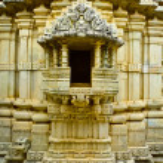 Ranakpur Jain Temple shrine — Stock Photo #57399089