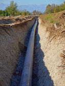 Gas pipe — Stock Photo