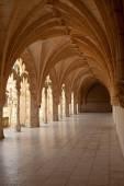 Jeronimos Monastery Cloister arcade — Stock Photo