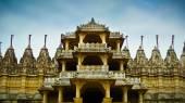 Ranakpur Jain Temple front entrance — Stok fotoğraf