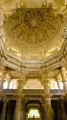 Ranakpur Jain Temple inner dome — Stok fotoğraf