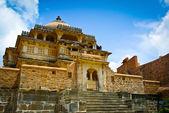 Kumbhalgarh Fort temple — Stock Photo