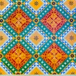 Colorful floor decoration in Junagarh Fort — Stock Photo #58160555