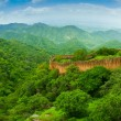 Kumbhalgarh Fort wall panorama — Stock Photo #58160921