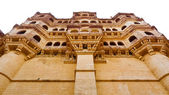 Under Mehrangarh Fort balconies — Foto Stock