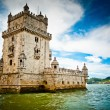 Belem Tower and Tagus river — Stock Photo #58312277