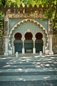 Moorish fountain — Stock Photo