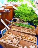 Organicznych rynku — Zdjęcie stockowe