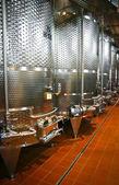 Fermentation vats — 图库照片