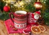 Cup of tea — 图库照片