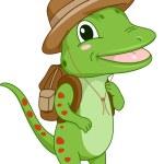 Safari Gecko — Stock Photo #58947797