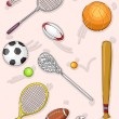 Assorted Sports Equipment — Stock Photo #58948957