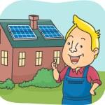Solar Panel House — Stock Photo #58949595