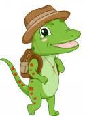 Safari Gecko — Stock Photo