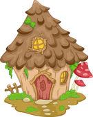 Cute Gnome House — Stock Photo