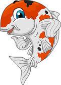 Koi Carp Mascot — Stock Photo