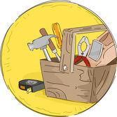 Tool Box Icon — Stockfoto