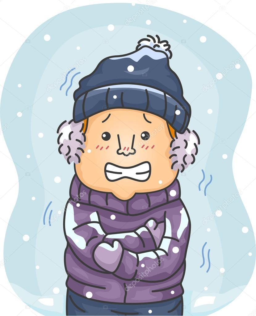 冬季动漫服装素材