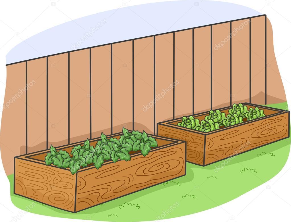 Raised Garden Beds — Stock Photo © lenmdp #58948209