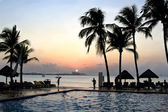 Cancun Mexico Sunset — Stock Photo