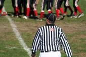 High School Football Referee — Stock Photo