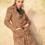 Sexy brunette fashion woman posing — Stock Photo #62031097